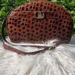 Brown Leather Salvatore Ferragamo Handbag